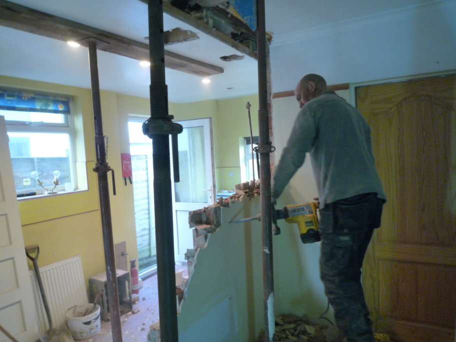 Internal Wall Removal